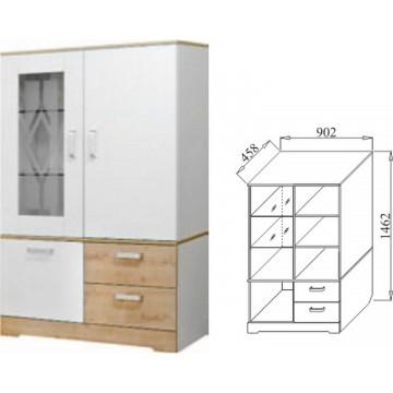 Шкаф многофункциональный 900 Бэлла-6