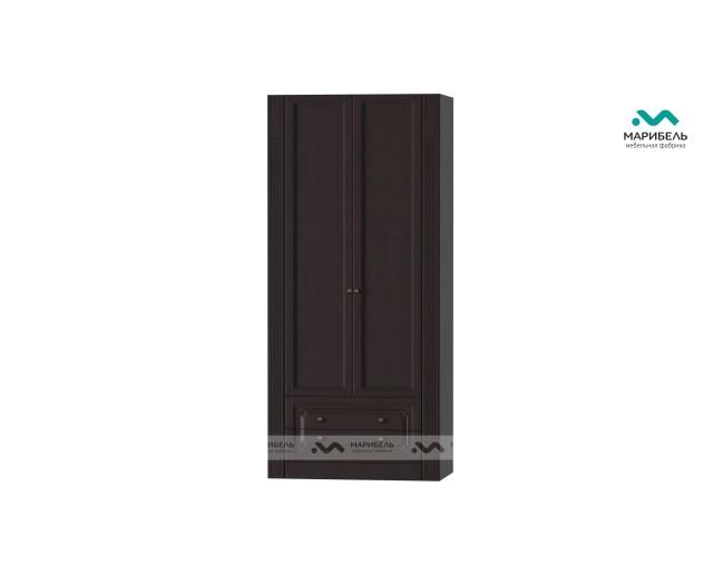 Шкаф 2-х дв. для платья с выдвижными ящиками Ева-11
