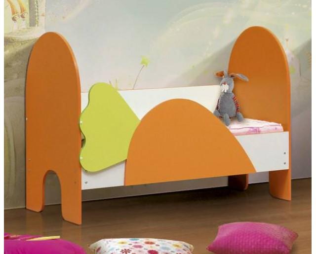 Детская кровать 700х1400 Морковка