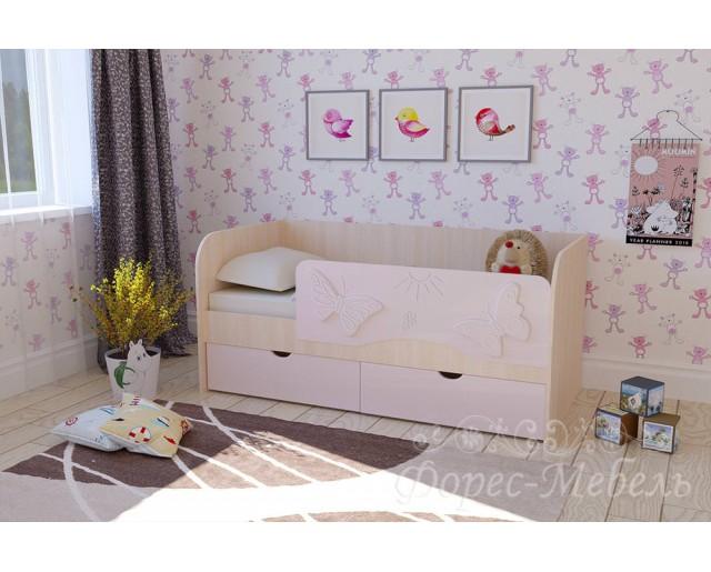 Кровать 800х1600 Бабочки
