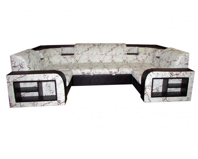 Угловой диван Эко 15 П-образный