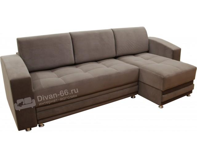Угловой диван Эко 24  без накладок массив