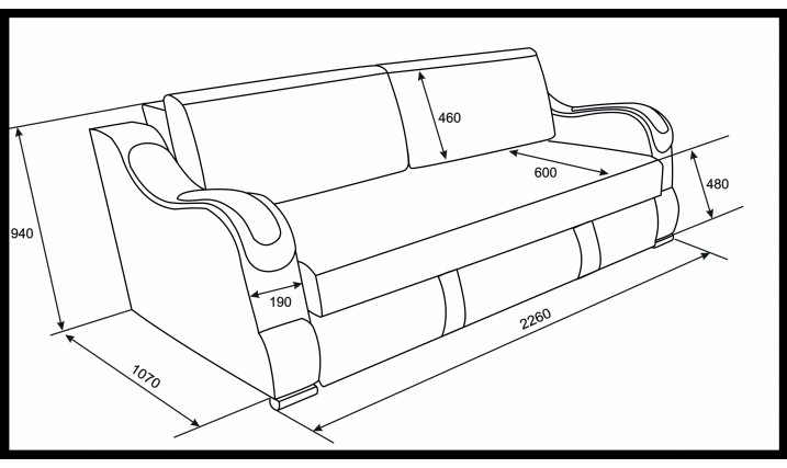Еврокнижка  Эко 27 (Металлокаркас) тройной раскладки (Форест 04.06, Батерфляй микс)