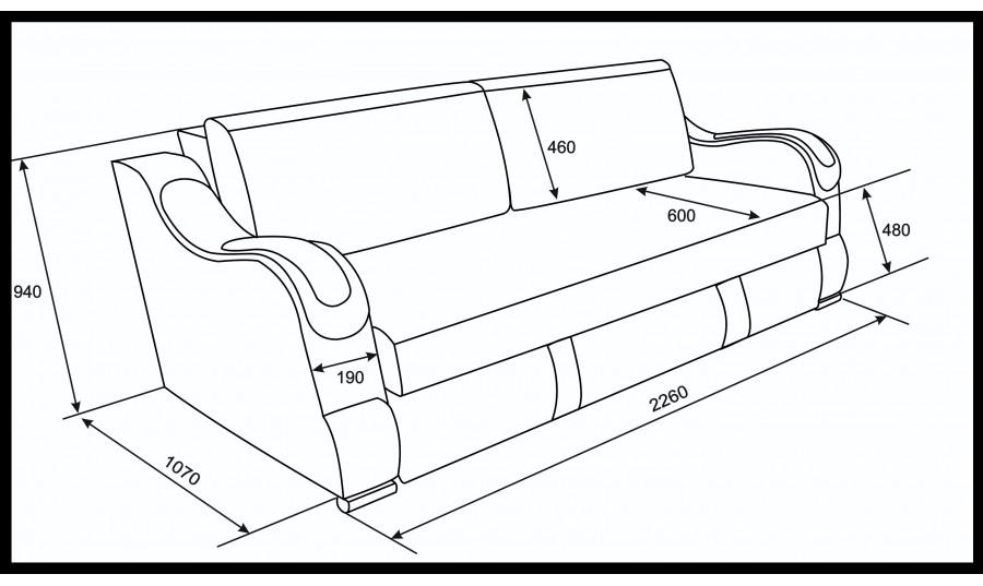 Еврокнижка  Эко 27  (Металлокаркас) тройной раскладки (Саламандра)
