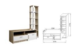 Гостиная модульная Бэлла-4