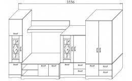 Гостиная модульная Бэлла-6