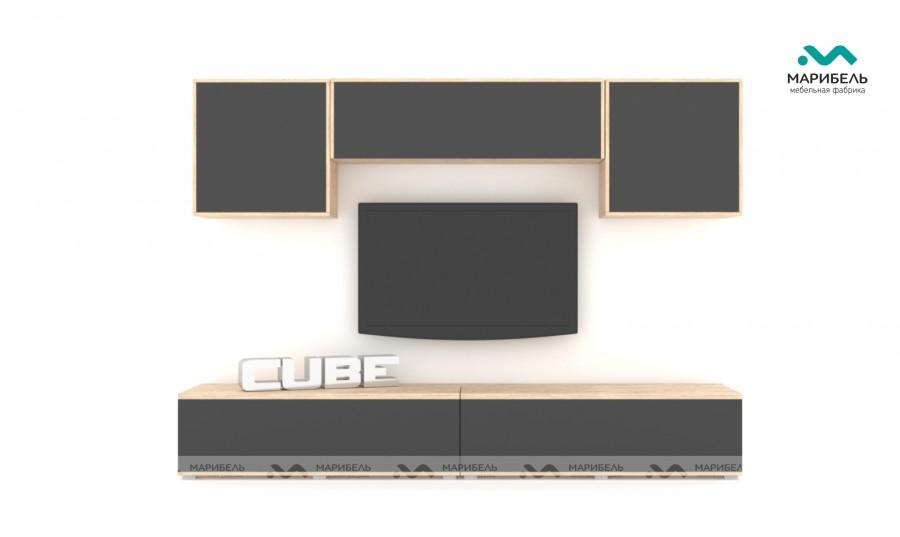 Гостиная модульная Куб (Cube) Компоновка 10