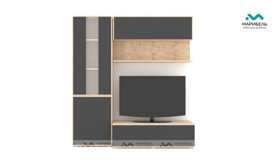Гостиная модульная Куб (Cube) Компоновка 11