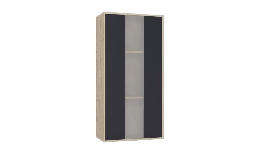 Шкаф навесной со стеклом Куб К04