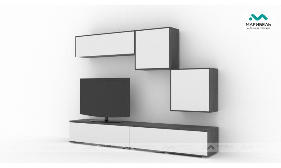 Гостиная модульная Куб (Cube) Компоновка 2