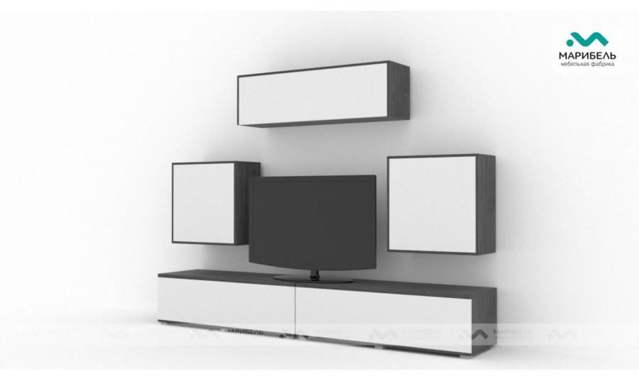 Гостиная модульная Куб (Cube) Компоновка 3