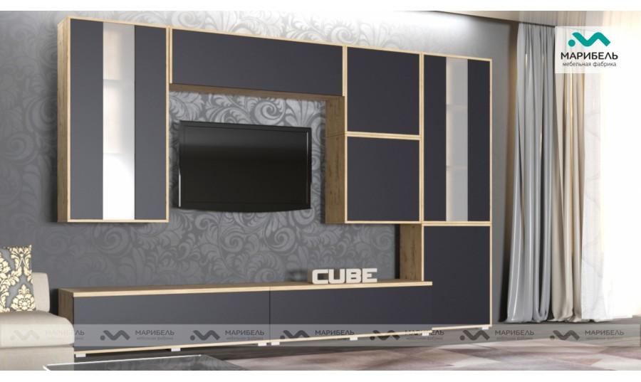 Гостиная модульная Куб (Cube) Компоновка 1
