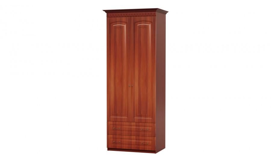 Шкаф 2-х дв. для платья с ящиками Гармония-4