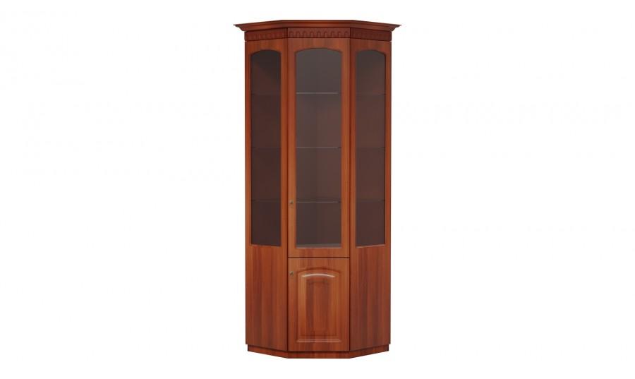 Шкаф МЦН витрина угловая Гармония-4