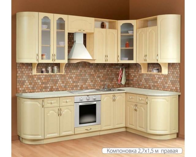Модульный кухонный гарнитур Классика