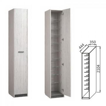 Шкаф комбинированный обувница Визит-14 (ВП-3)