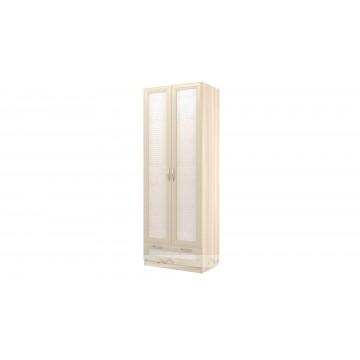 Шкаф 2-х дв. ящиком Визит-16 (ВИП-8)