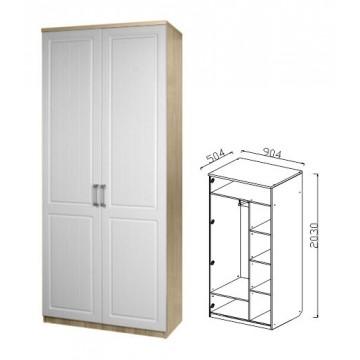 Шкаф для одежды 2-х дв. Визит-17 (Прованс)