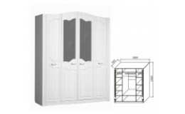 Модульный набор для спальни Ева-10