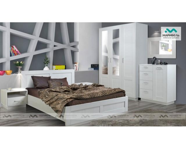 Модульный набор для спальни Ивушка-9 (Квадро)