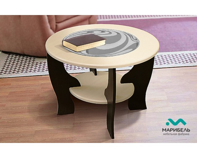 Журнальный стол - М1 круглый