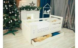 Кроватка - Манеж Горизонталь с ящиком