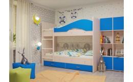 """Двухъярусная кровать """"Мая"""" с ящиками"""