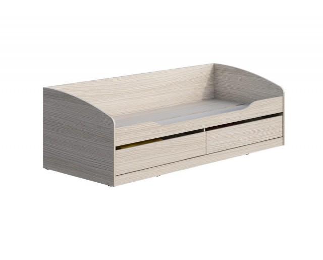 Кровать 800х2000 с ящиками Мийа-3А