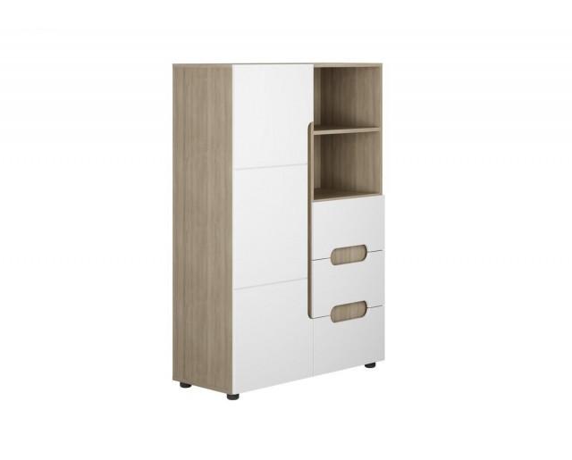 Шкаф 1-ств. комбинированный Палермо-3 (Юниор)