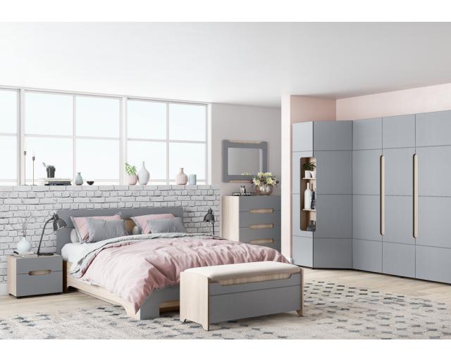 Модульный набор для спальни Палермо-3
